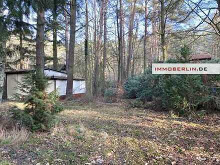 IMMOBERLIN: Naturschönheit für 129,- €/m²! Großes Baugrundstück in Fichtenwalde