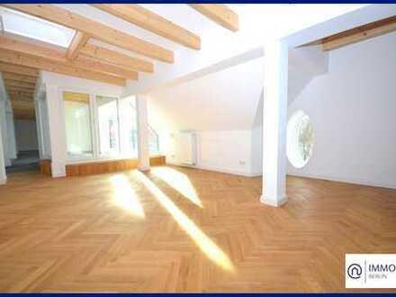 Penthouse mit Blick über Berlin, Dachterrasse, FBH, Gäste-WC u.v.m.