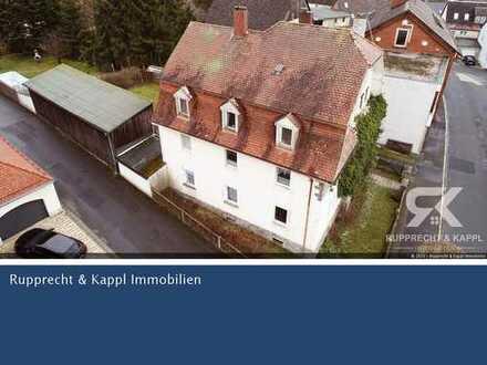 Gekauft wie gesehen oder komplett renoviert? MFH zur Kapitalanlage oder Selbsteinzug in Waldershof