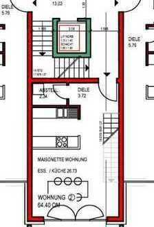 2-Zimmer Neubau Erdgeschosswohnung