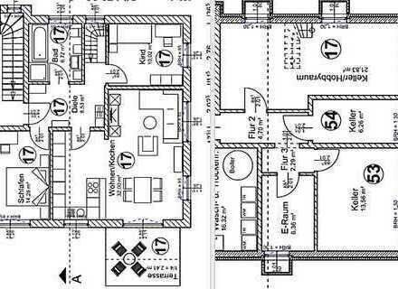 5-Zi.-ETW über 2 Etagen, EG + Souterrain, Garten und 2 Hobbyräume im Neubauprojekt in Saaldorf.