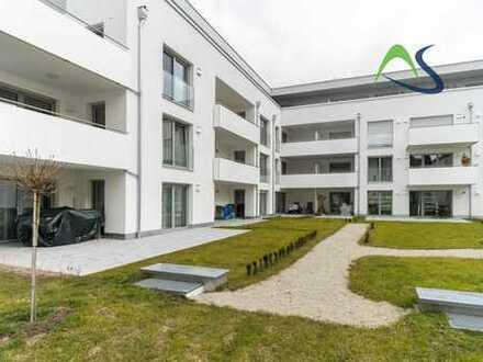 KFW 55 - Neubau Erdgeschosswohnung mit zwei Terrassen in zentraler Lage von Weiden