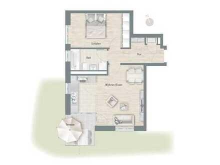 Schöne 2-Zimmer Wohnung in Regensburg, Ostenviertel