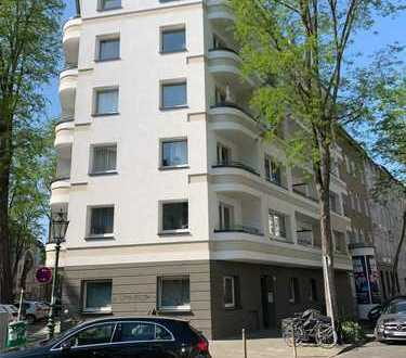 Moderne Wohnung mit zwei Zimmern in Düsseldorf Unterbilk