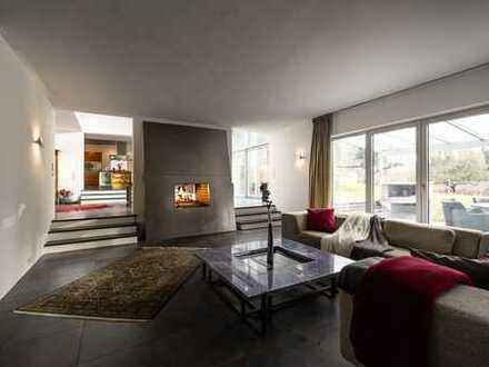 moderne Bauhaus-Villa mit Süd-West Ausrichtung