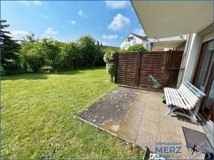 Attraktive 2,5 Zimmerwohnung mit Terrasse und Garten + TG Platz -nur für Kapitalanleger -