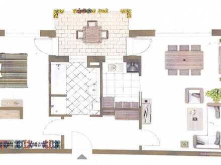 Neuwertige 2-Zimmer-Wohnung mit Balkon und EBK in Weiden in der Oberpfalz