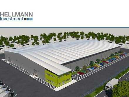Logistikflächen ab 400 qm in Autobahnnähe zu vermieten
