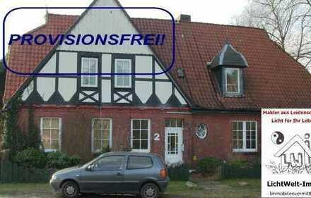 Renditestarke historische Immobilie in ruhiger Lage und zudem OHNE Käuferprovision!