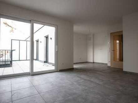 Erstbezug: Exklusive 3-Zimmer-Penthouse-Wohnung mit Dachterrasse in Neusäß