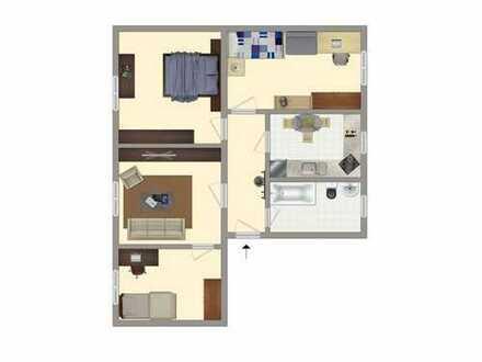 Große 4-Raum-Wohnung in der Pestalozzistraße
