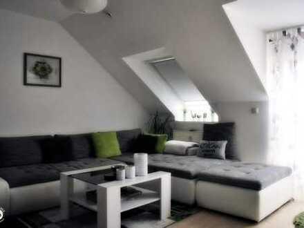reizende 4-Zimmer-Wohnung mit Balkon in Ortsrandlage von Ichenhausen