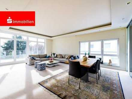 Wunderschöne Penthousewohnung am Frankfurt Berg mit grandiosem Blick auf den Taunus!