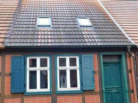 Hübsches kleines Fachwerkhaus mit Garten in der Altstadt von Wittenberge
