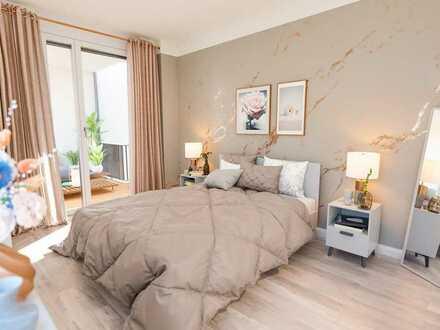Ihre eigene 2-Zimmer-Wohnung mit Loggia im grünen Biesdorf