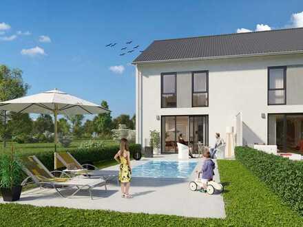 Modern Family Concept - Reihenhaus 3 - KfW55