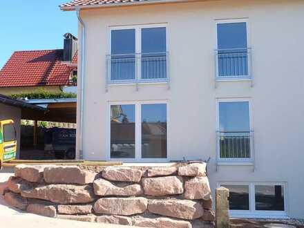 Erstbezug Doppelhaushälfte mit 6 Zimmern und Carport, Bad Teinach-Zavelstein