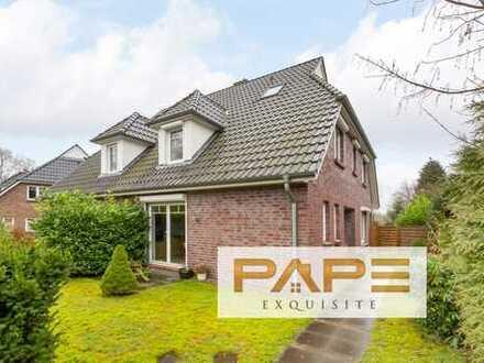 Haus am See - Exklusive Doppelhaushälfte mit großem Grundstück in Hamburg-Niendorf