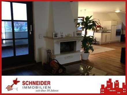 IMMOBILIEN SCHNEIDER - BERG AM LAIM - aussergewöhnliche 1,5 Zi. Galerie-Wohnung, offener Kamin, EBK