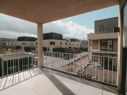 Erstbezug: Exklusive 3-Zimmer-Wohnung mit EBK und Balkon in gehobener Wohnlage