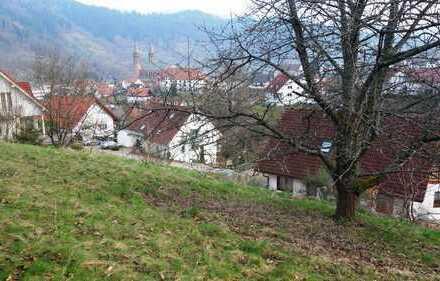 Baugrundstück in Forbach mit herrlicher Aussicht!