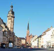 Große Eigentumswohnung im Zentrum von Altenburg zu verkaufen.