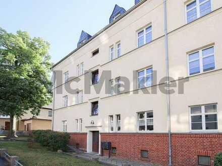 Attraktive Kapitalanlage: Vermietete 3-Zi.-Dachgeschosswohnung mit Balkon in Chemnitz-Gablenz