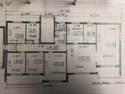Gepflegte 5-Zimmer-EG-Wohnung mit Balkon und EBK in Eisenberg