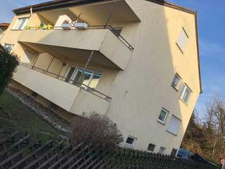 Helle, gepflegte 2-Zimmer-EG-Wohnung mit Balkon und EBK in Tamm