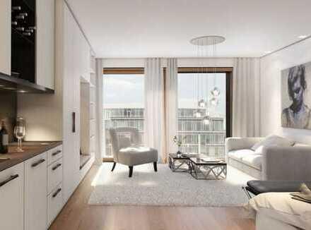 Exklusive, geräumige 1-Zimmer-Wohnung mit Balkon und EBK in HafenCity, Hamburg