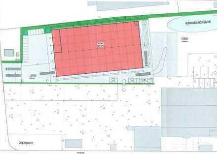 Neubau Industrie-/Gewerbehalle in Bornheim mit 3.500m² Hallenfläche