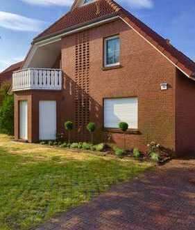 Modernisierte 3-Zimmer-EG-Wohnung mit Terrasse und EBK in Dornum