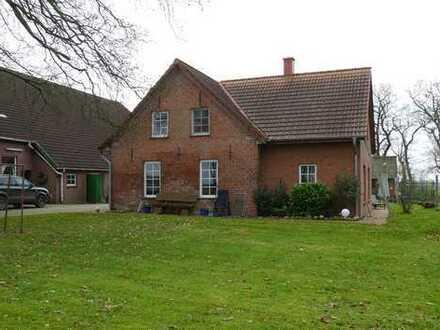Wohnen auf dem Bauernhof: Großzügiges Einfamilienhaus in Berne-Ollen - ab 01.01.2020 bezugsfrei!