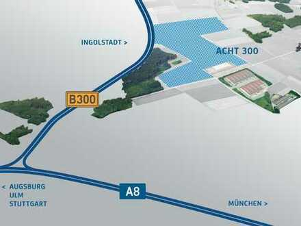 Acht300 Gewerbepark Aichach Dasing - Direkt an der A8