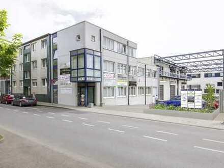 Lagerhalle mit Büroeinheit im Gewerbegebiet Ehrenfeld