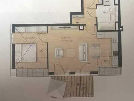 Moderne, neuwertige 2-Zimmer-DG-Wohnung mit Balkon und EBK in Solln, München