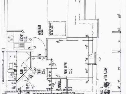 Attraktive, gepflegte 2-Zimmer-DG-Wohnung mit gehobener Innenausstattung zur Miete in Unna
