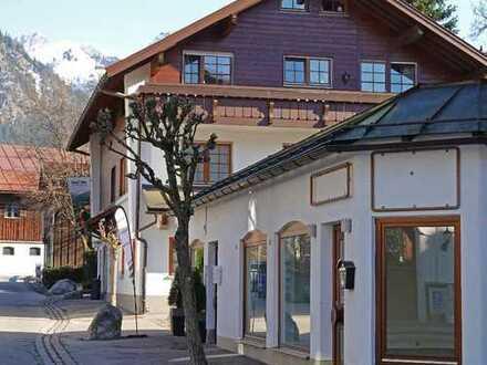Mitten in der Oberstdorfer Fußgängerzone - Schönes Ladenlokal