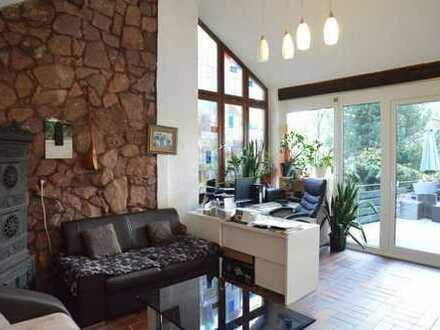 Wohnung mit grossem Garten und Terrasse