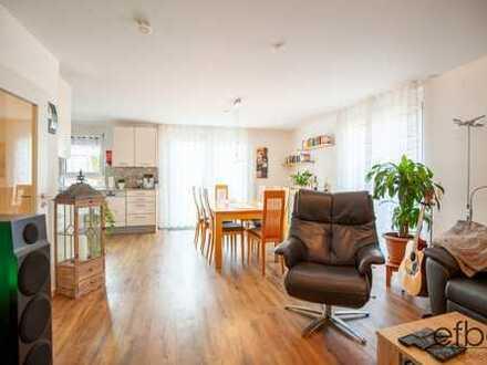 Reserviert: 5 Zimmerwohnung über 2 Etagen in Ettlingen-Spessart