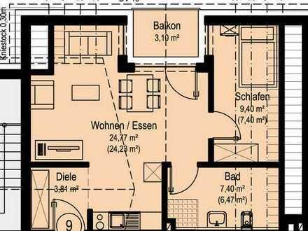 NEUBAU Schöne 2-Zimmer-Wohnung in Dörzbach (W9)