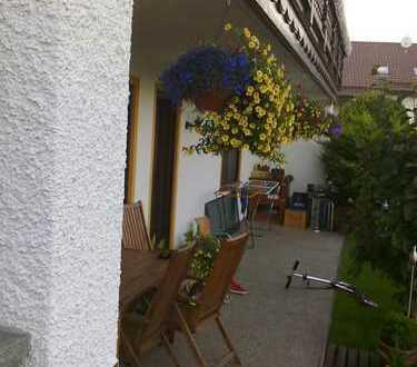 Gepflegte 3 Zimmer-Terrassenwohnung in Blaibach