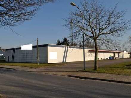 Gewerbehalle mit 2 großen separaten Gewerbeeinheiten in Martensdorf bei Stralsund zu verkaufen