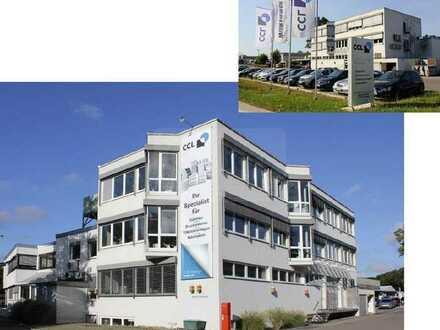Betriebsgebäude in Toplage