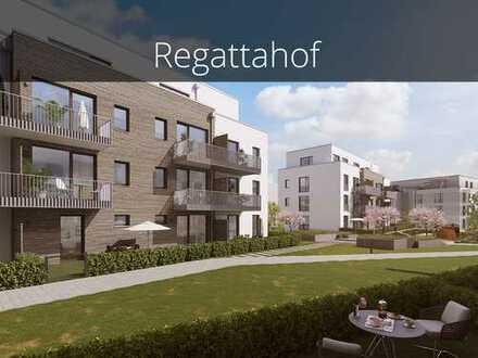 Moderne 2-Zimmer-Wohnung auf ca. 51 m² mit privatem Garten in toller Lage