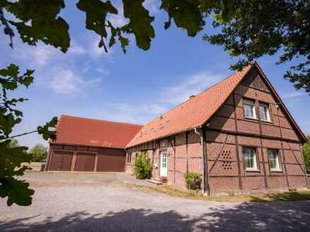 Gepflegter Resthof mit zwei Wohnungen ideal für Handwerker oder Pferdehalter