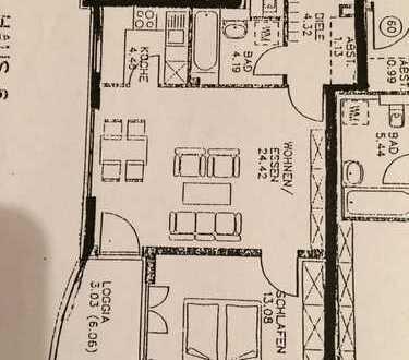 670 €, 56 m², 2 Zimmer