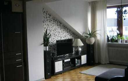 Helle 5-Zi. Maisonette-Wohnung mit Garten in ruhiger Sackgasse in Stadtrandlage