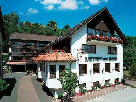 Traditionsreicher und bekannter Landgasthof mit großem Gästehaus in Hardheim