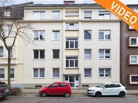 solide Immobilienanlage: gepflegte 3-Raum-Wohnung - 60 m²